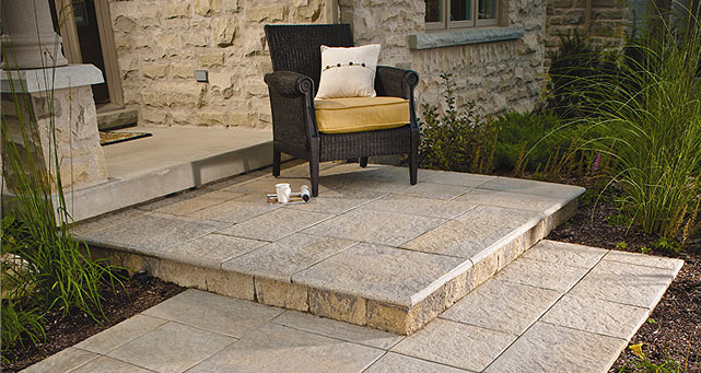 Stone Tiles For Backyard : Patio Stone  Stonetile Abruzzo