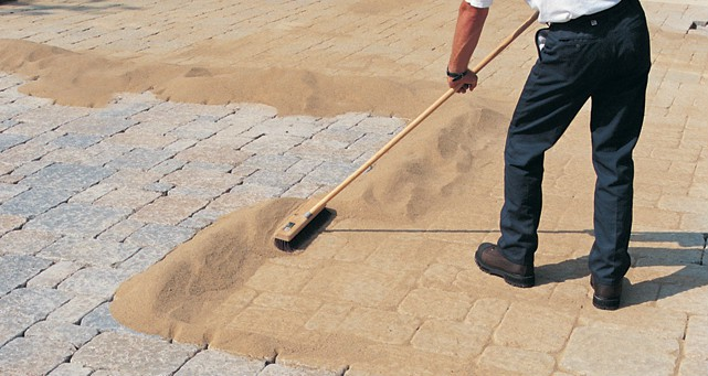 Polymeric Sand And Paver Sand