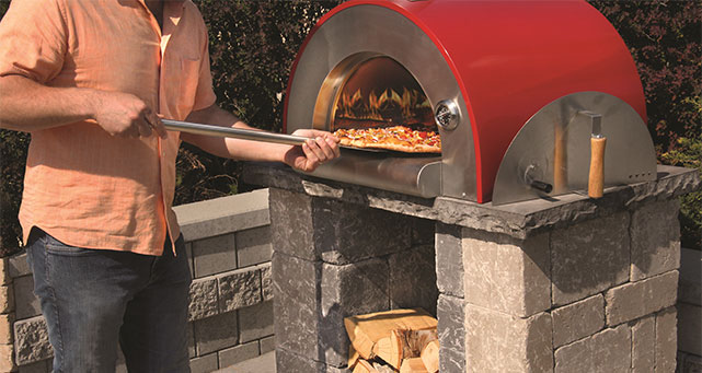 wood burning pizza oven outdoor pizza oven kit wood burning 10598